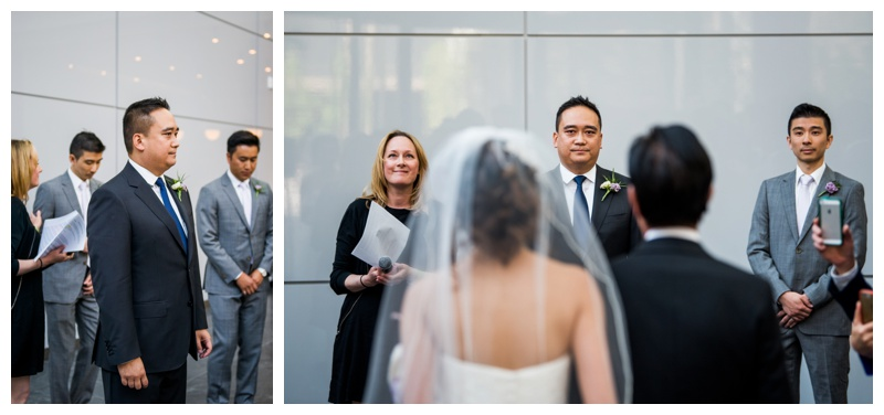 Calgary Downtown Wedding Ceremony - Brookfield Place
