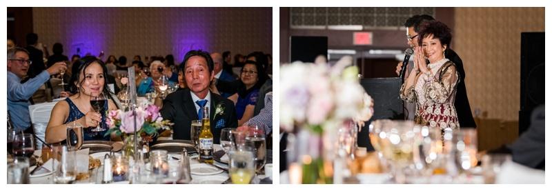 Calgary Hyatt Hotel Wedding Reception - Downtown Calgary Hotel Weddings