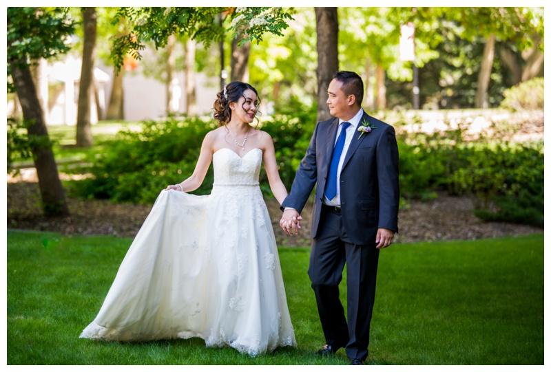 Calgary Spring Wedding Photography