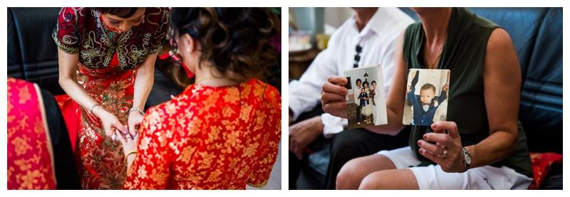 Calgary Tea Ceremony Wedding Photographer