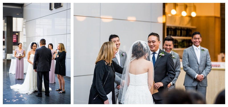 Calgary Wedding Ceremony - Brookfield Place