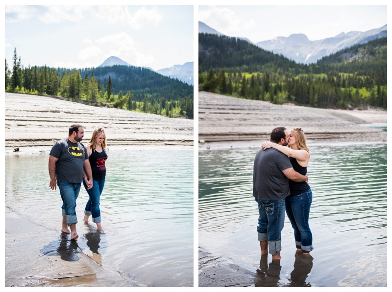 Canmore Lake Wedding Photographer