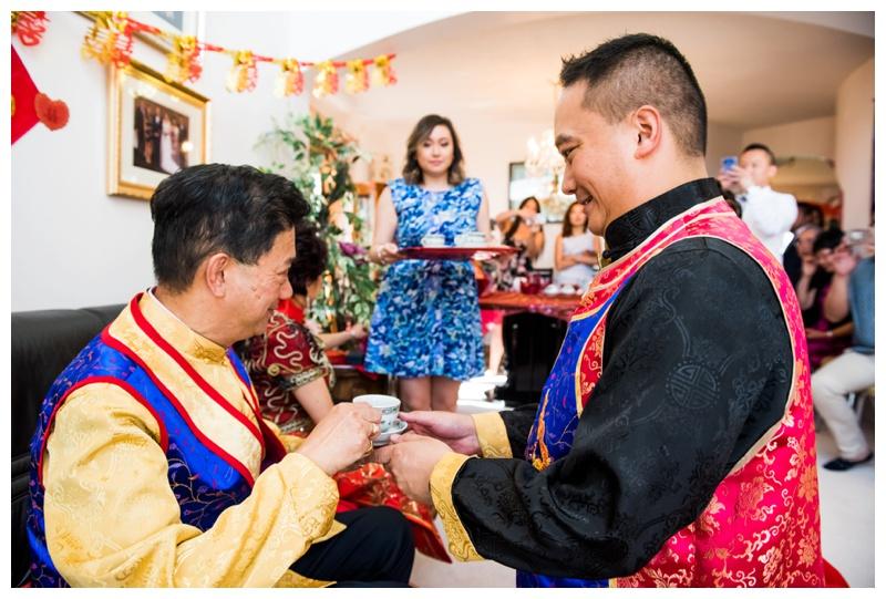 Chinese Tea Ceremony Wedding Photos Calgary