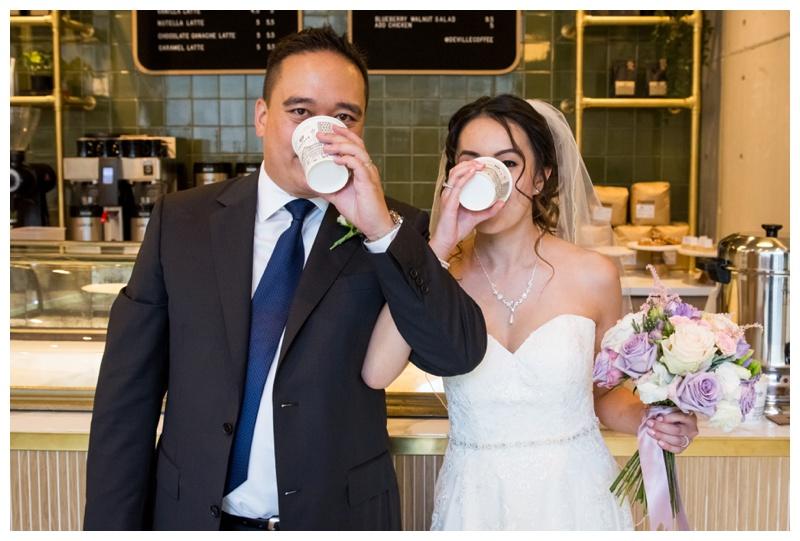 Deville Coffee Wedding Photography Calgary