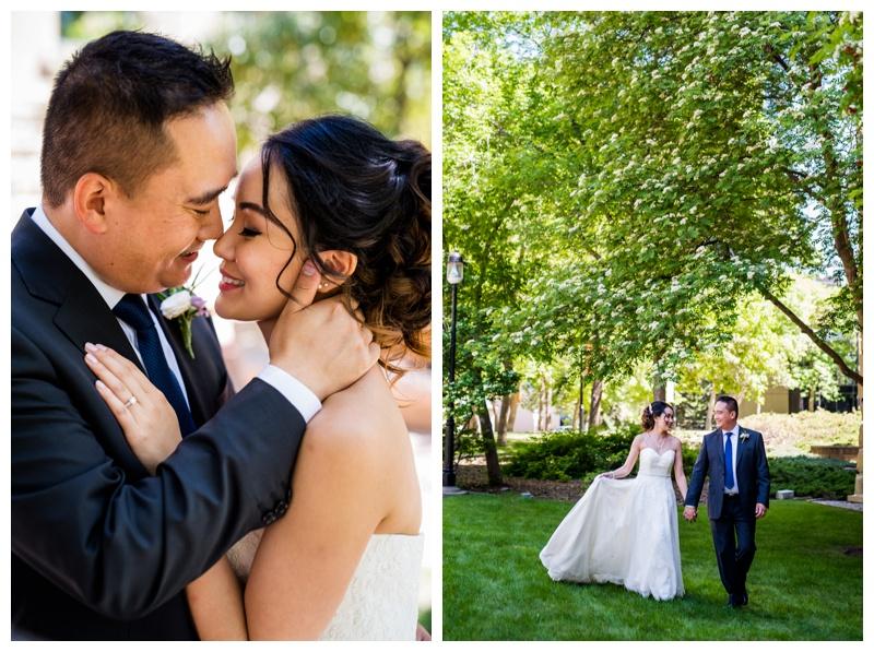 Downtown Calgary Wedding Photography - Calgary Wedding Photographers