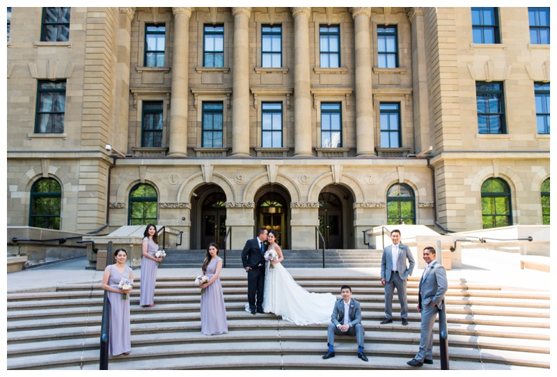Downtown Wedding Photography - Calgary Wedding Photographer