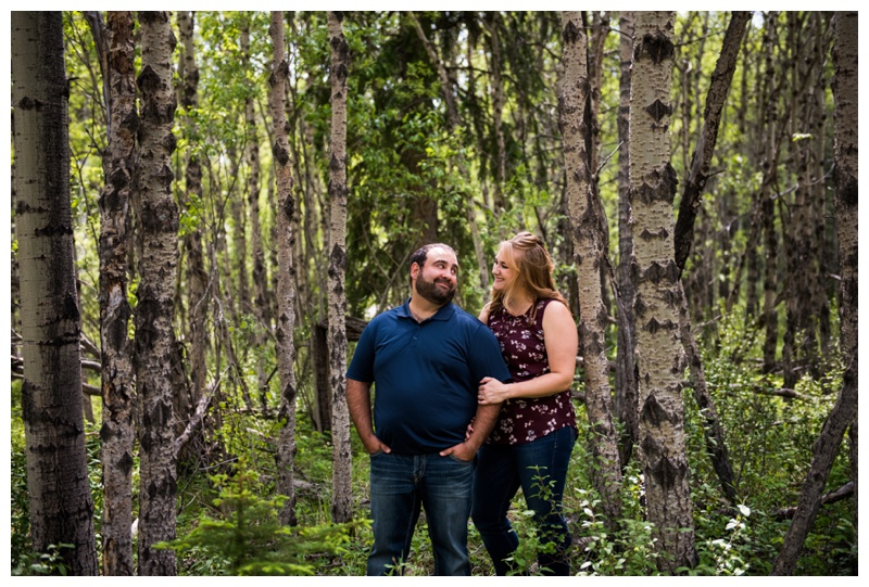 Engagement Photography Barrier Lake Kananaskis