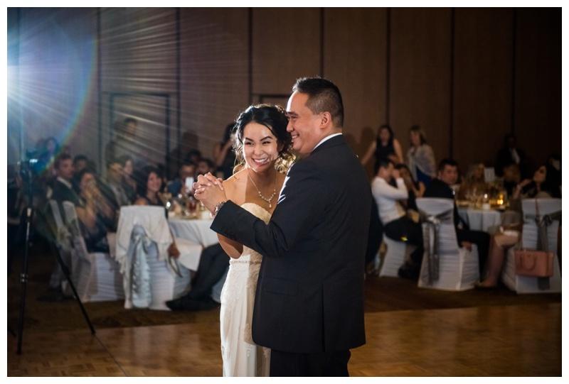 First Dance Wedding Photos - Calgary Hyatt Wedding