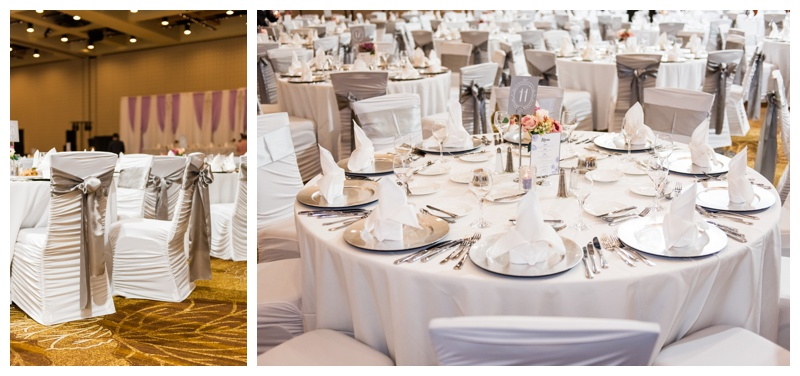 Hyatt Calgary Wedding Reception