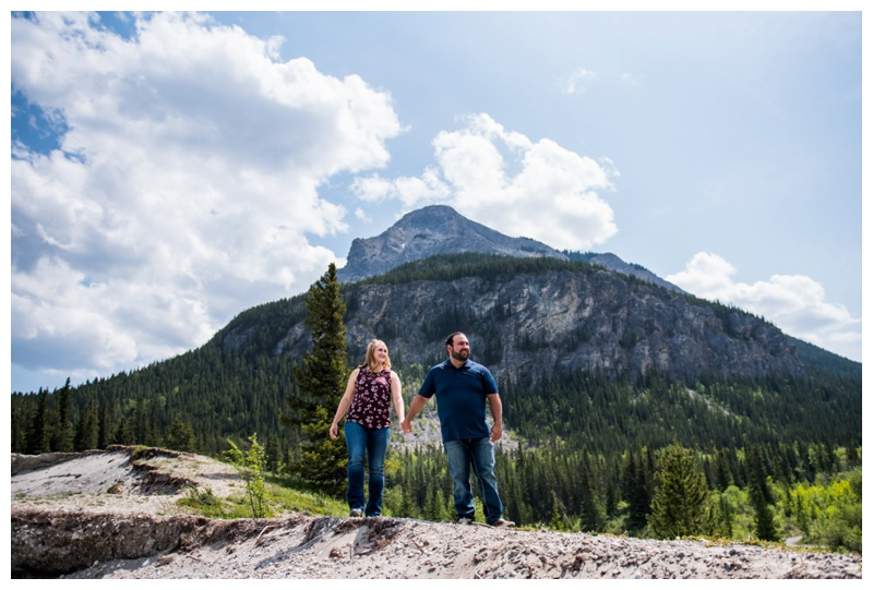 Kananaskis Engagement Session - Canmore Wedding Photographer