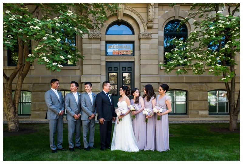 Wedding Party Photography - Wedding Photographers Calgary