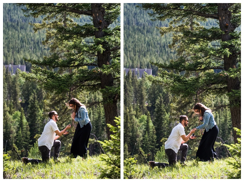 Banff Proposal Photography