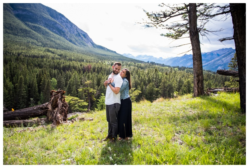 Banff Proposal Photos - Banff Wedding Photographer