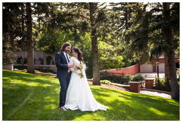 Upper Mount Royal Back Yard Wedding | Mike & Candace | Calgary Wedding Photographer