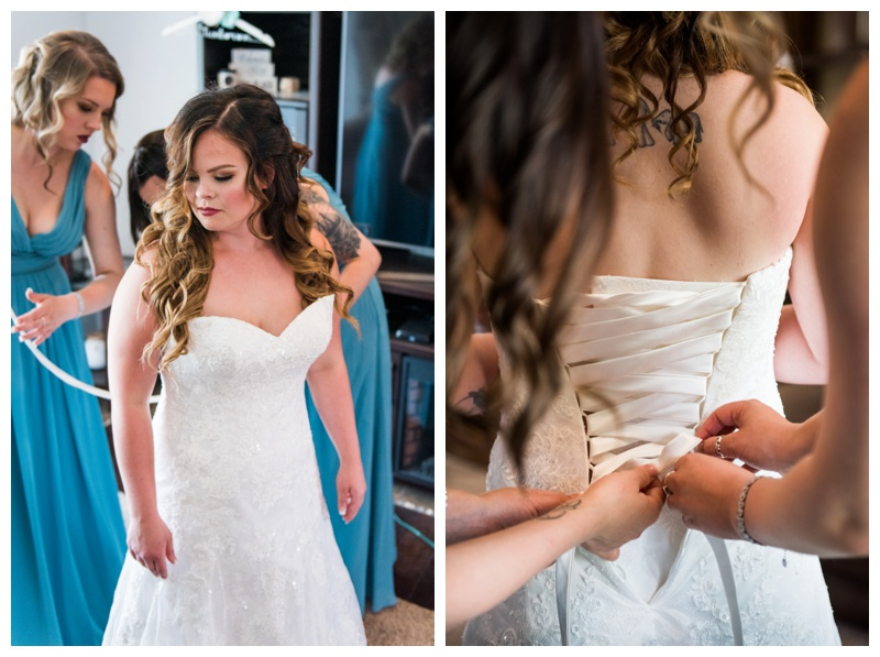 Bridal Prep Wedding Photography - Calgary Alberta