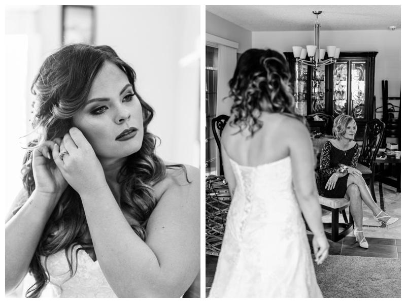 Bridal prep Wedding Photos - Calgary