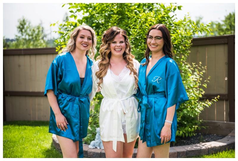 Bridesmaid Wedding Photography Calgary