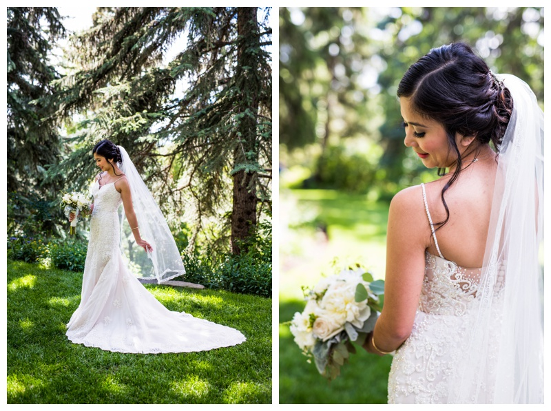 Calgary Bride - Reader Rock Garden