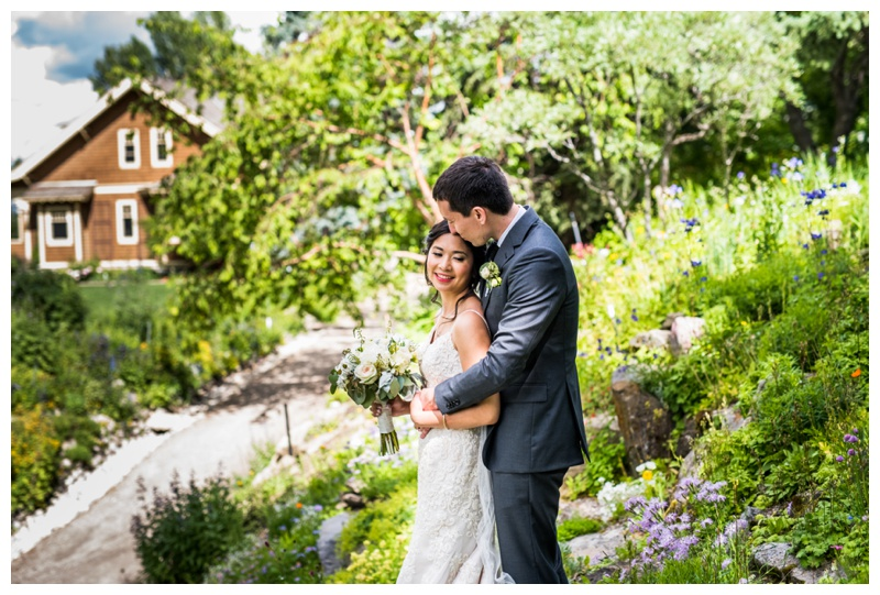 Calgary Park Weddings - Reader Rock Garden