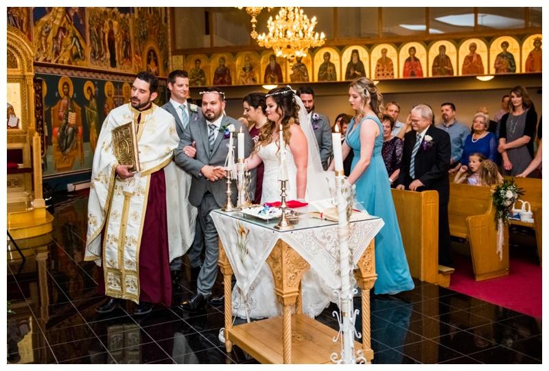 Calgary Saint Demetrios Greek Orthodox Chuch Wedding