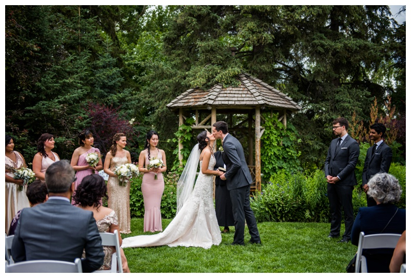 Calgary Wedding Ceremony - Calgary Reader Rock Garden