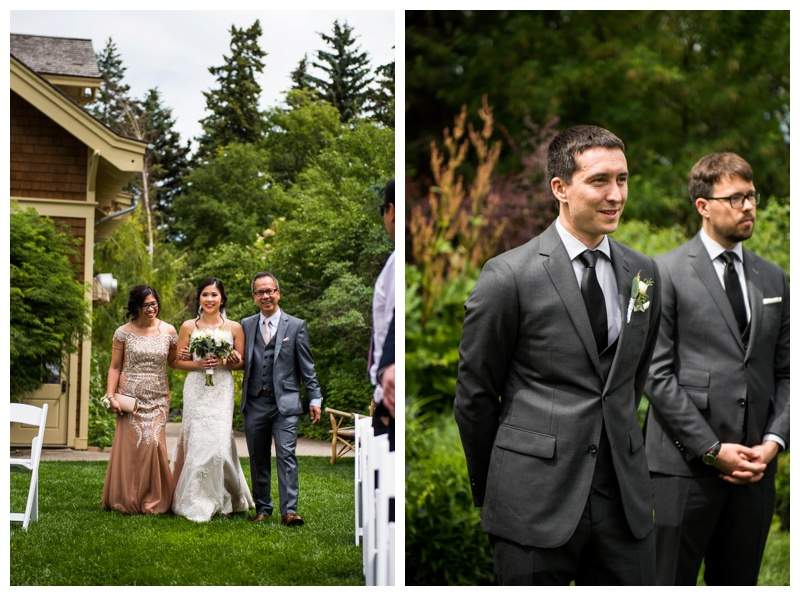 Calgary Wedding Ceremony - Reader Rock Garden