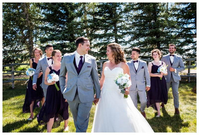 Calgary Wedding Party Photos