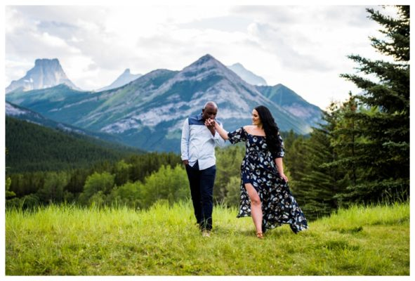 Wedge Pond Anniversary Photography Session | Peter & Arezoo | Calgary Couple Photographer