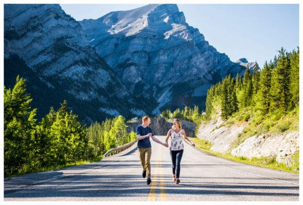 Galetea Trail Kananaskis Engagement Session | Logan & Steph | Calgary Engagement Photos