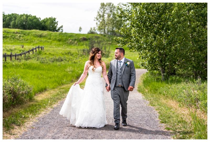 Fish Creek Park Wedding Calgary