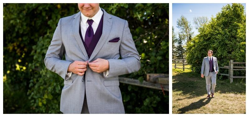 Groom Portrait Wedding Photos Calgary