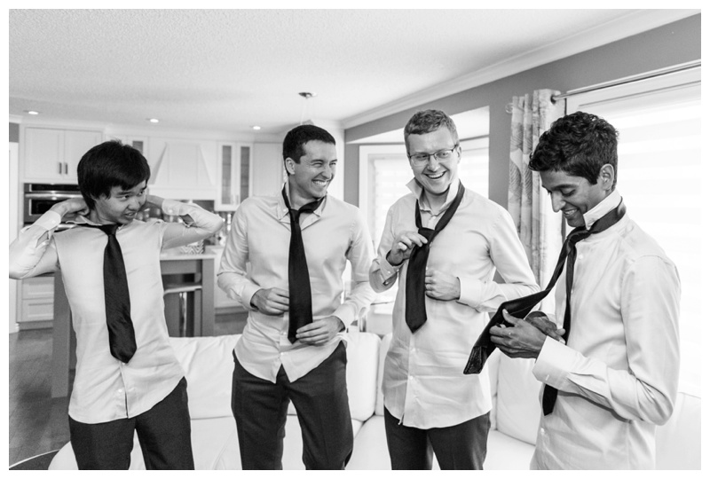 Groom Prep Wedding Photography Calgary