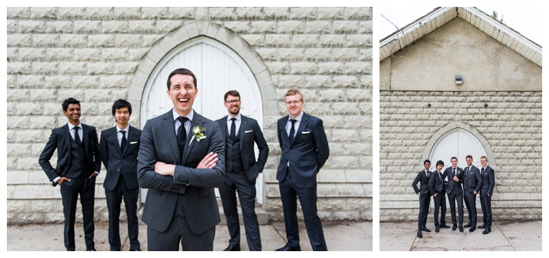 Groomsmen Photography Calgary - Calgary Wedding Photographer