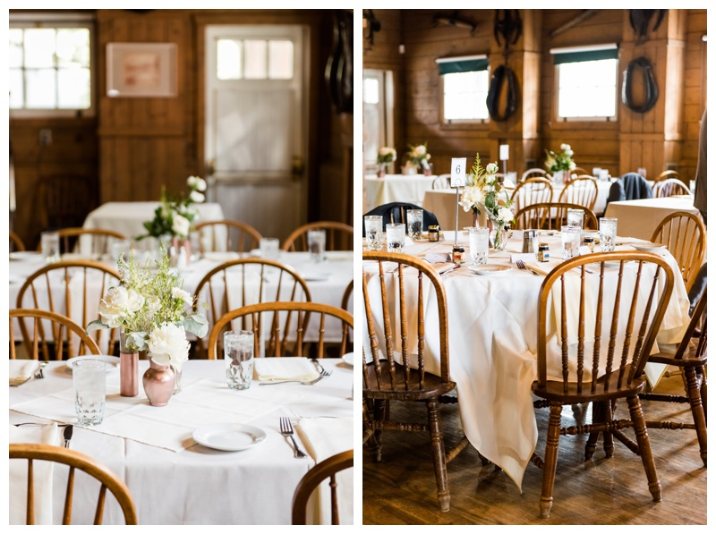 Gunn's Dairy Farm Wedding Reception - Calgary Heritage Park