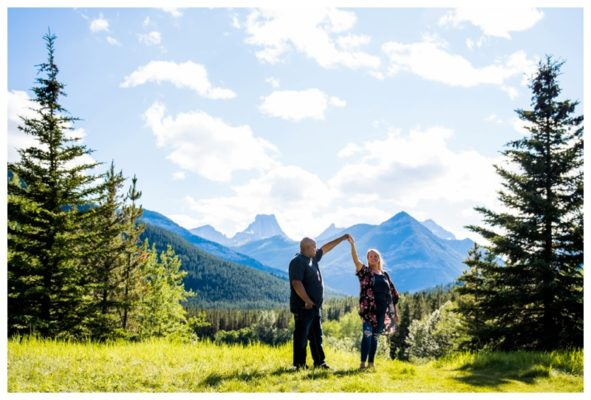 Wedge Pond Engagement Photography | Alex & Hailee | Kananaskis Engagement Photographer