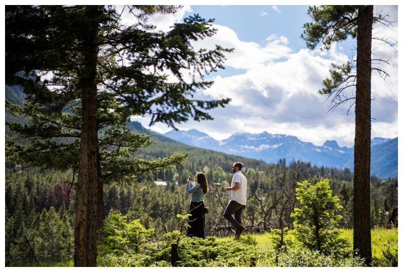 Rocky Mountain Wedding Proposal