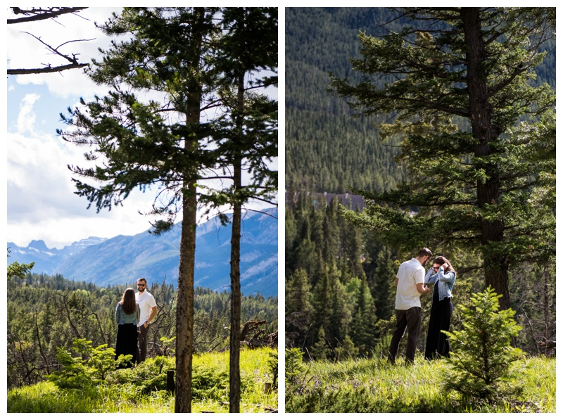 Rocky Mountain Wedding Proposals - Banff
