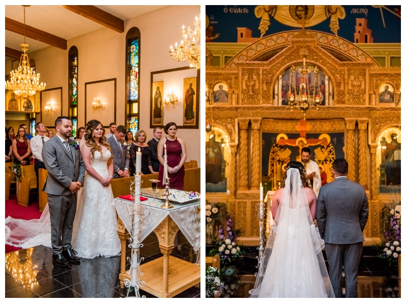 Saint Demetrios Greek Orthodox Chuch Calgary Wedding Photographer