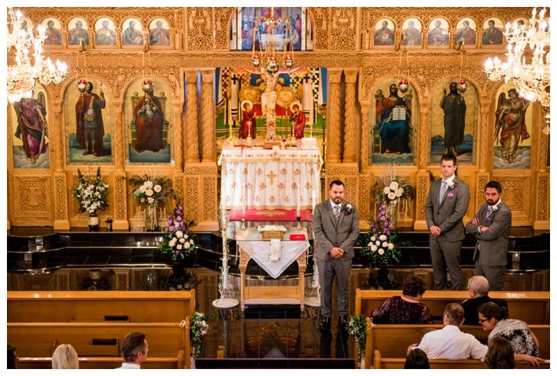 Saint Demetrios Greek Orthodox Chuch Calgary Wedding