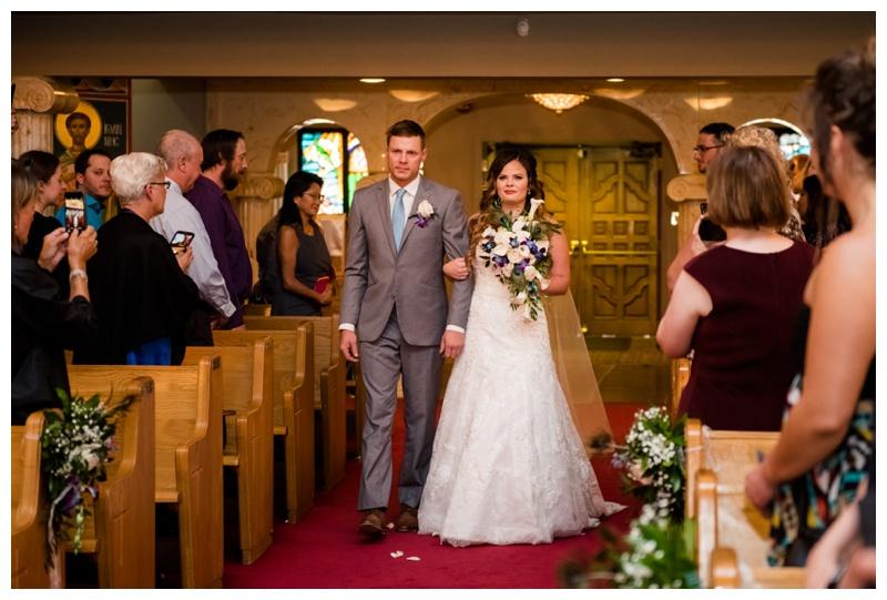 Saint Demetrios Greek Orthodox Chuch Wedding Calgary