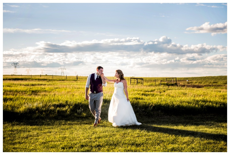 Sunset Farm Weddings Calgary Alberta - The Gathered
