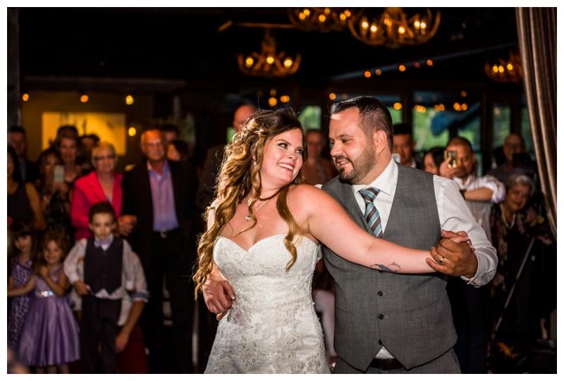 The Lake House Calgary - First Dance Wedding Photos