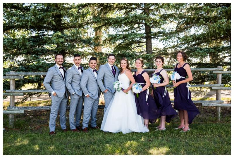Wedding Party Photos Calgary