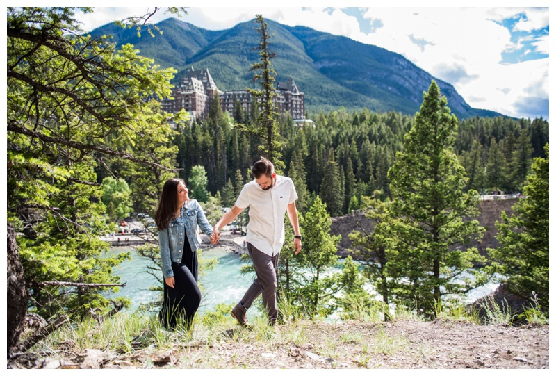Wedding Proposal Canmore Alberta