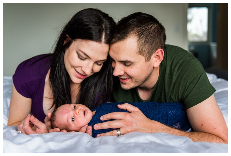 At Home Newborn Session Calgary
