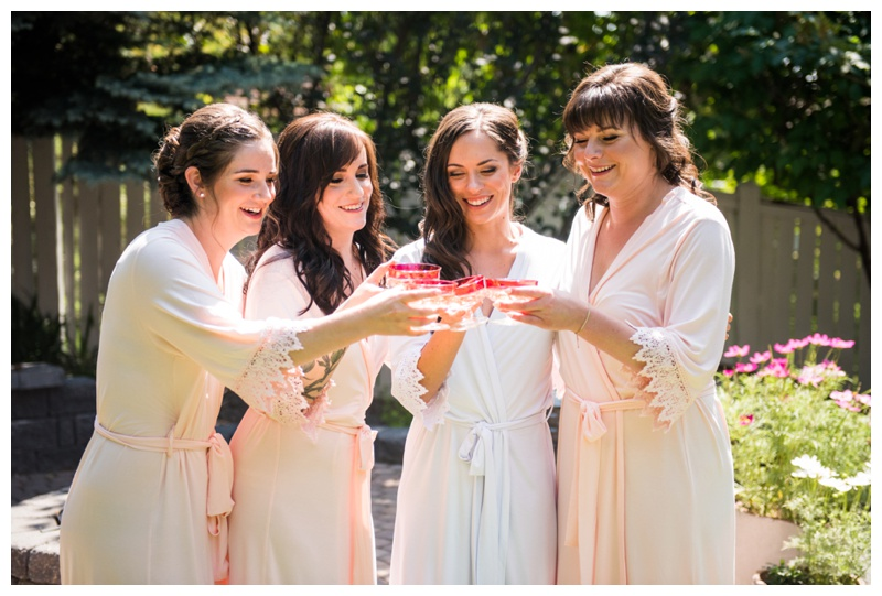 Bridesmaid Photography - Bridal Prep Wedding Photography Calgary