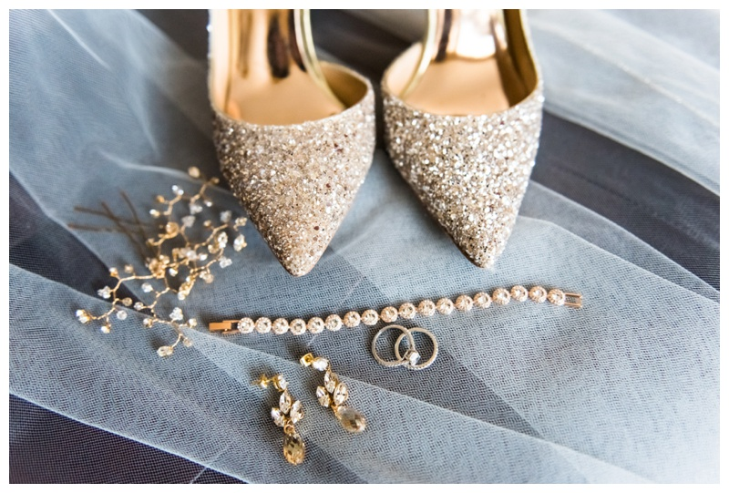 Calgary Bridal Prep Wedding Details