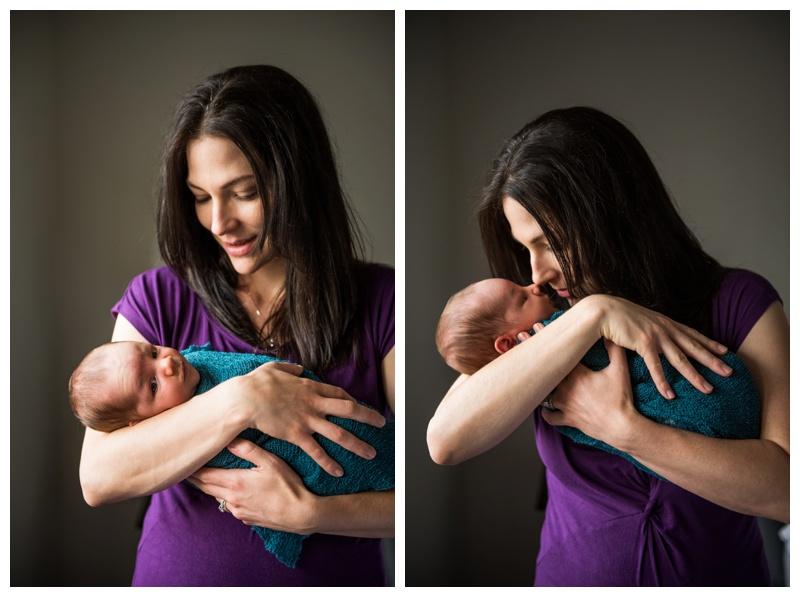 Calgary Lifestyle In Home Newborn Photos
