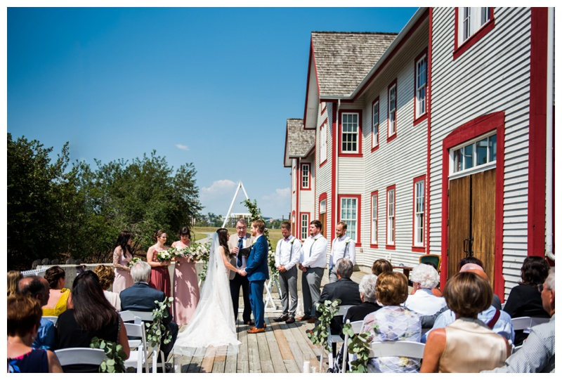 Calgary Outdoor Wedding Ceremonies - Fort Calgary