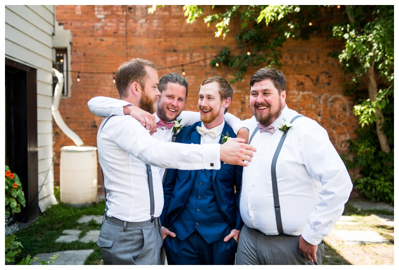 Calgary Wedding Party Photography - Groomsmen